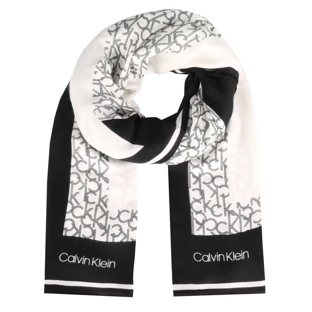 Calvin Klein Dámský obdélníkový šátek Geo Quilt K60K605145