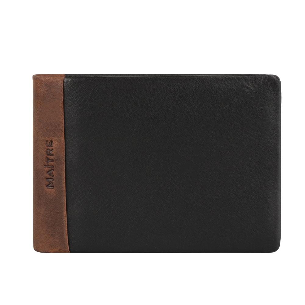 Maitre Pánská kožená peněženka Gerold 4060001442 - tmavě hnědá