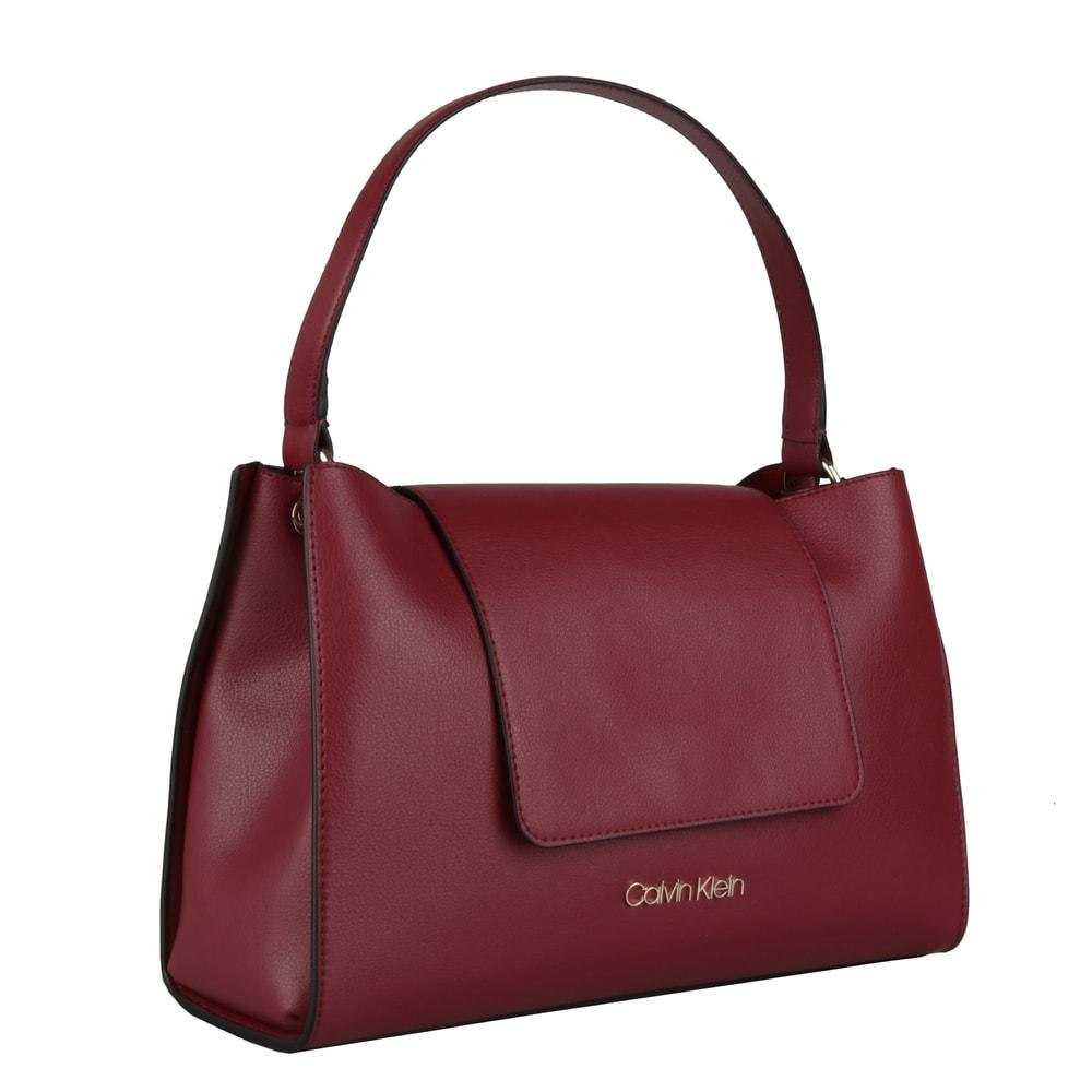Calvin Klein Dámská kabelka přes rameno Enfold K60K605625 - vínová
