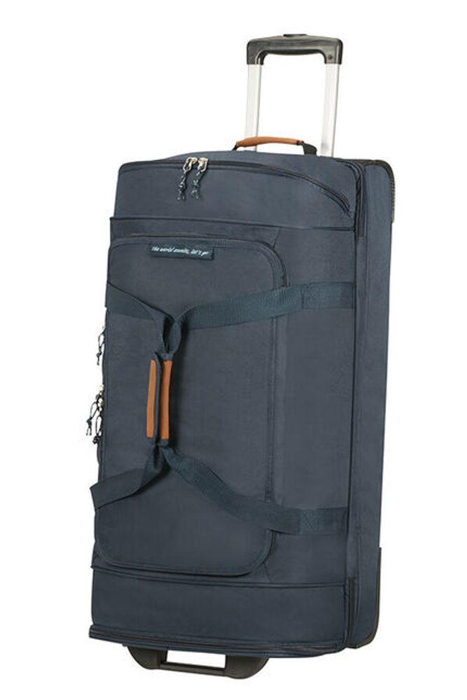 American Tourister Cestovní taška na kolečkách Alltrail L 95,5 l - tmavě modrá
