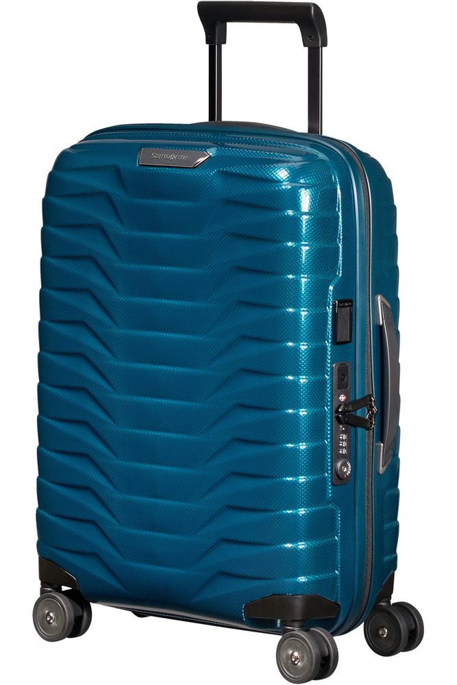 Samsonite Kabinový cestovní kufr Proxis EXP S 38/44 l - modrá