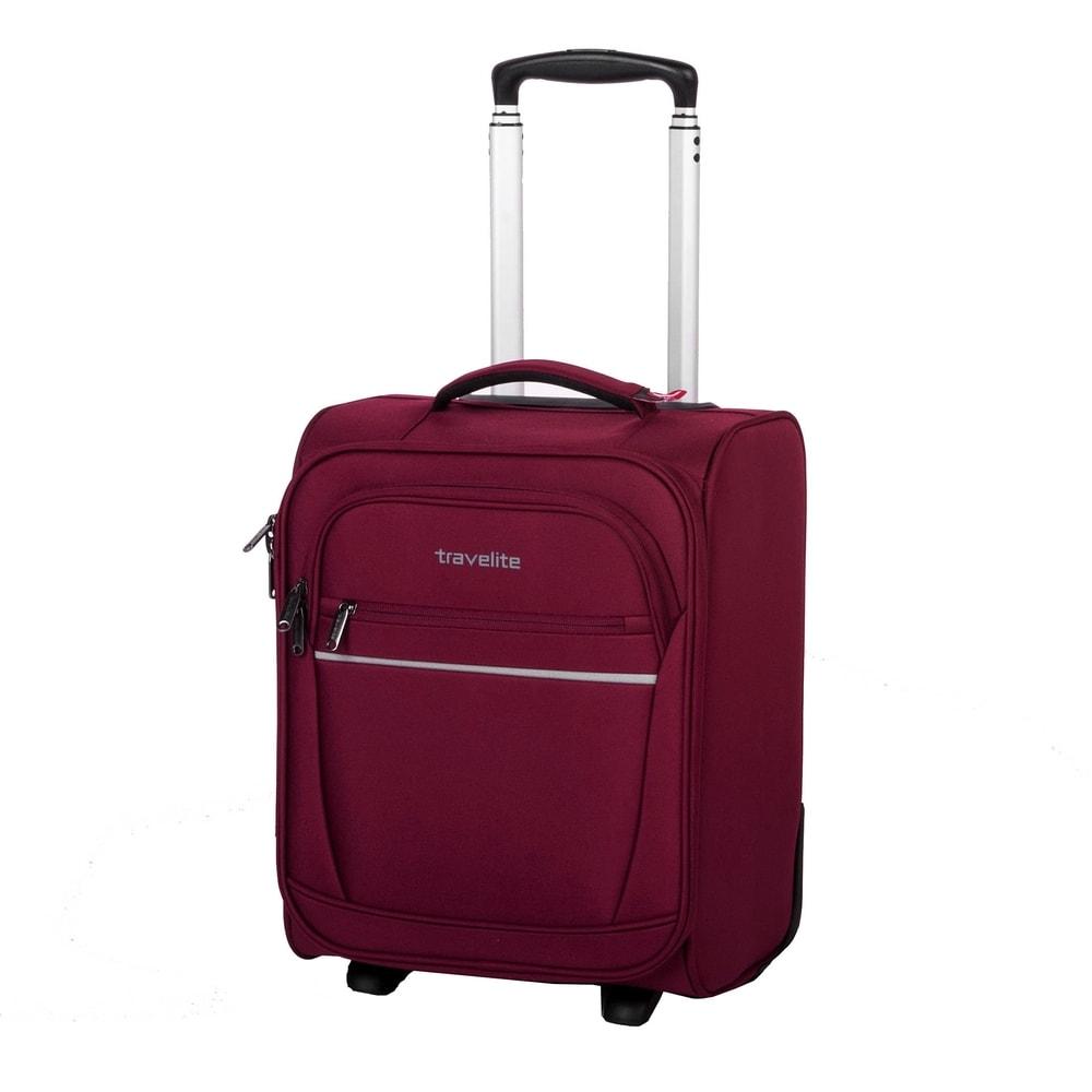 Travelite Kabinový cestovní kufr Cabin 2w XS Bordeaux 34 l