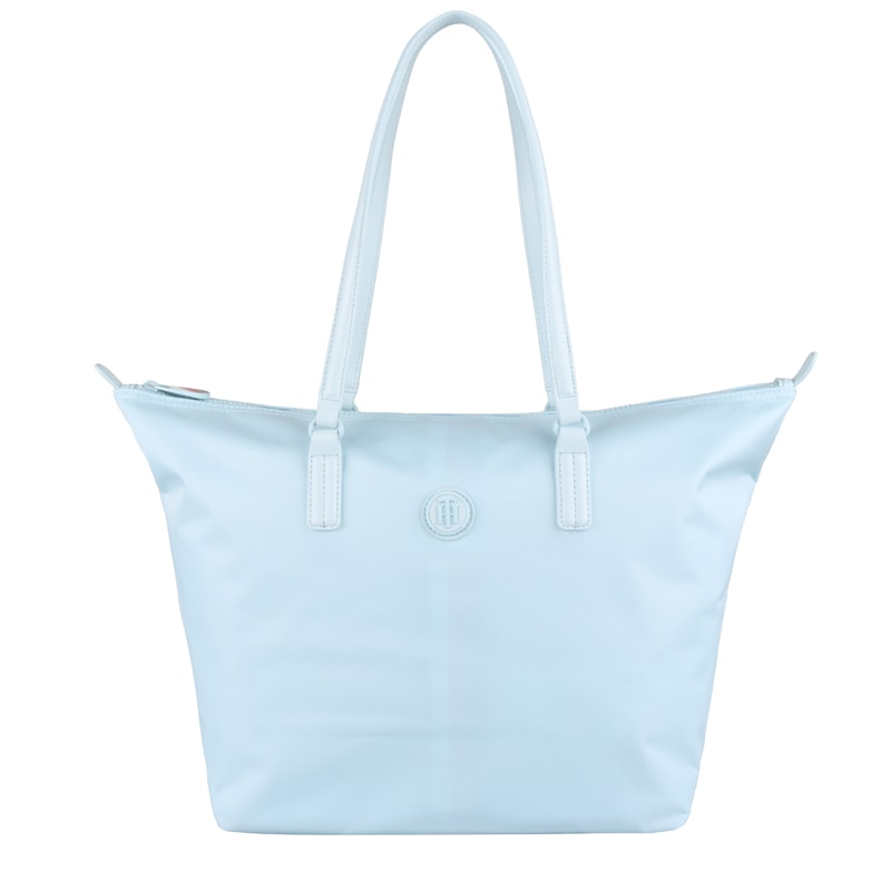 Tommy Hilfiger Dámská shopper kabelka Poppy AW0AW06443 - světle modrá