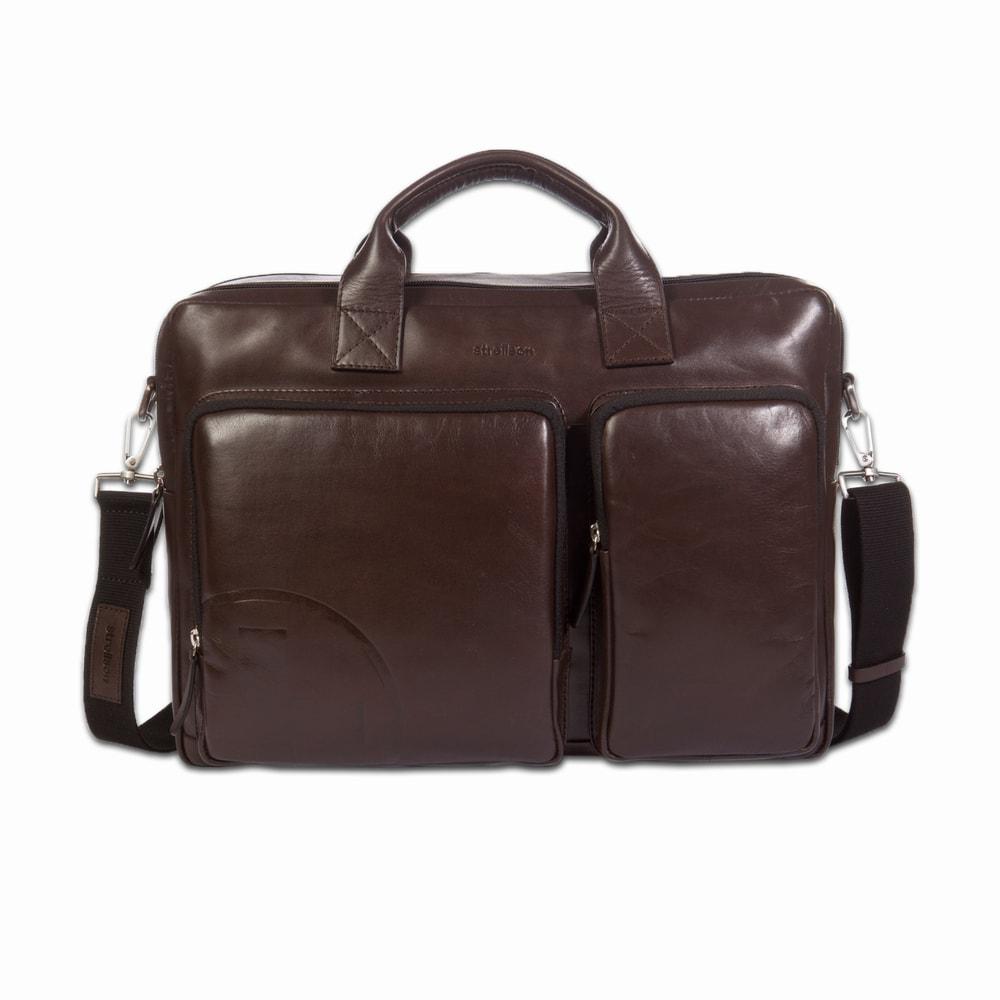 Strellson Pánská kožená taška do ruky Jones 4010000121