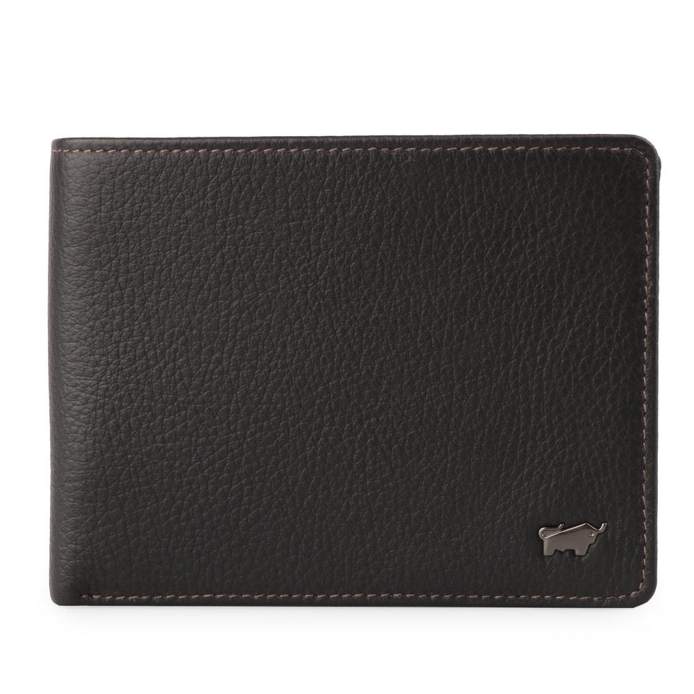 Braun Büffel Pánská kožená peněženka Terra 18737-180 - hnědá