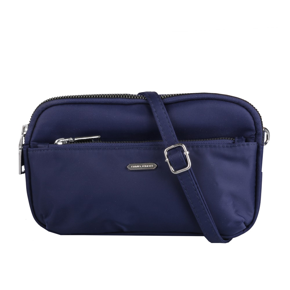 David Jones Paris Dámská crossbody kabelka 5992-3 - tmavě modrá