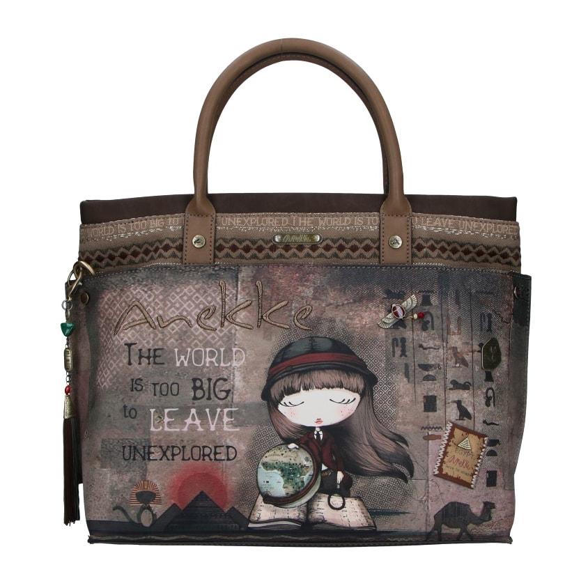 Anekke Velká dámská kabelka Exploradora Egypt 29891-62