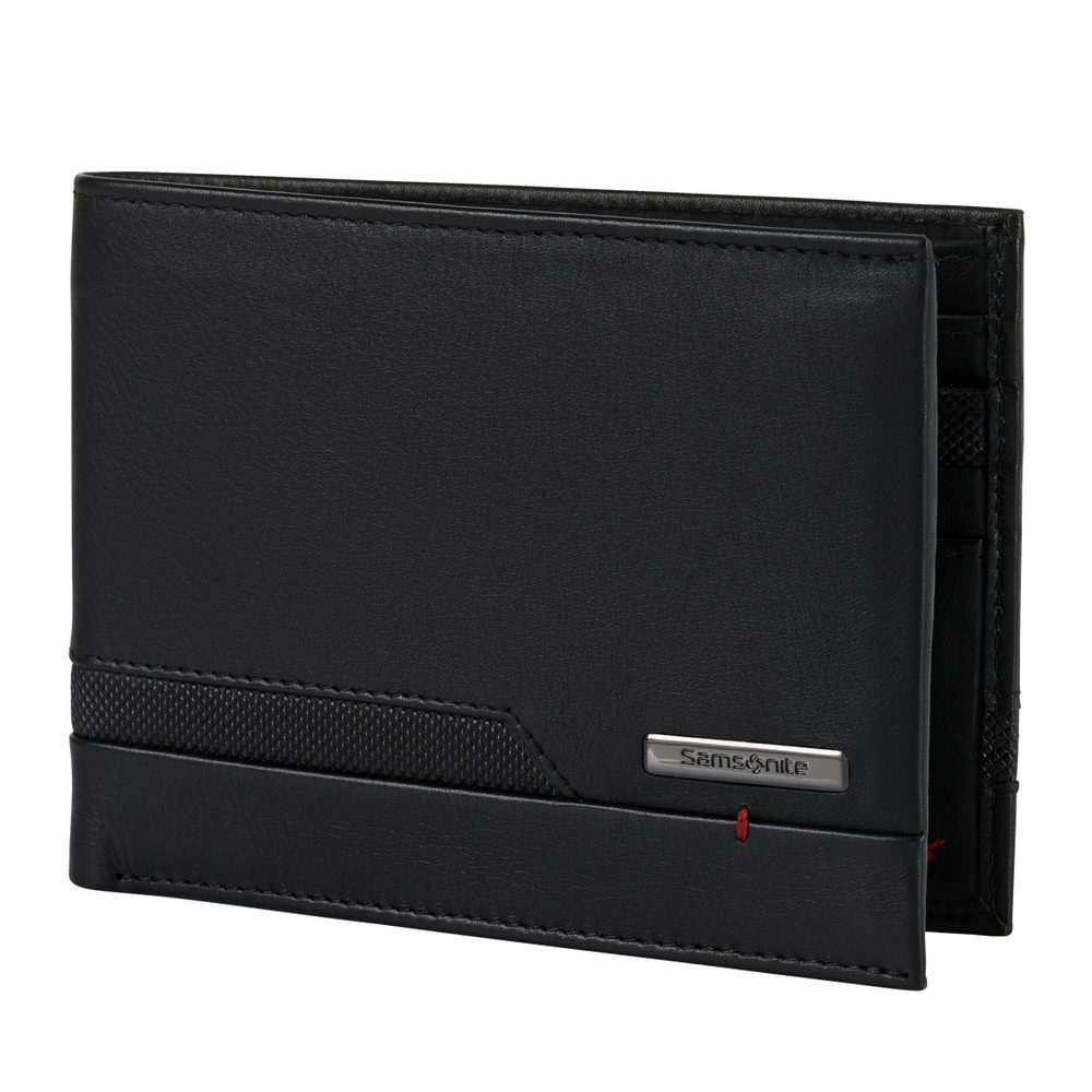 Levně Samsonite Pánská kožená peněženka Pro-DLX 5 SLG 005 - černá