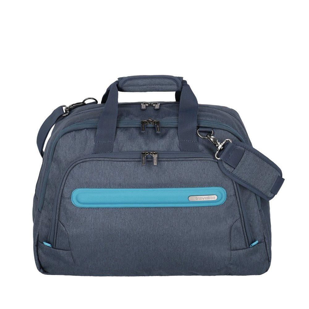 Travelite Cestovní taška Madeira Weekender Navy/Blue 30 l