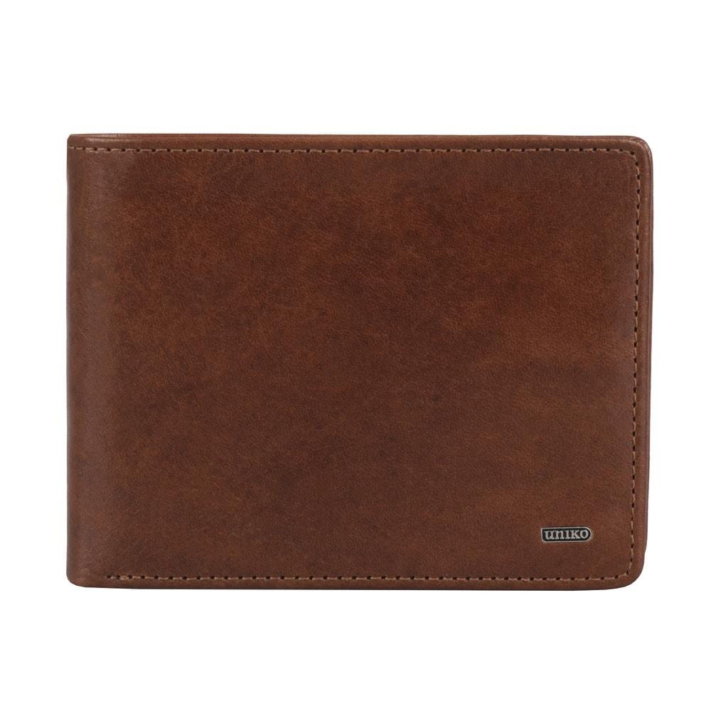 Uniko Pánská kožená peněženka Classic 211505 - hnědá