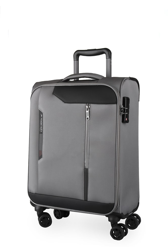 March Kabinový cestovní kufr Stardust 37 l - šedá