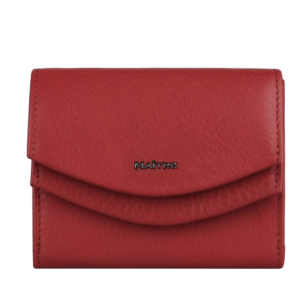 Maitre Dámská kožená peněženka Leisel Deda 4060001564 - červená