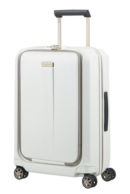 Samsonite Kabinový cestovní kufr Prodigy Spinner 00N 40 l - bílá