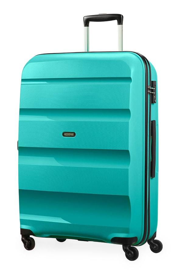 American Tourister Cestovní kufr Bon Air Spinner 85A 91 l - tyrkysová