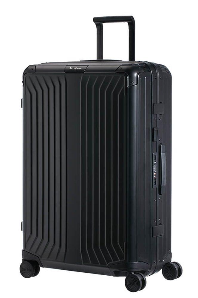 Samsonite Hliníkový cestovní kufr Lite-Box Alu L 91 l - černá
