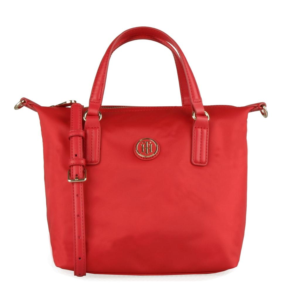 Tommy Hilfiger Dámská kabelka do ruky Poppy Small AW0AW06407 - červená