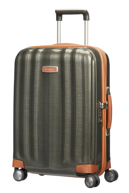 Samsonite Kabinový cestovní kufr Lite-Cube DLX Spinner 82V 36,5 l - zelená