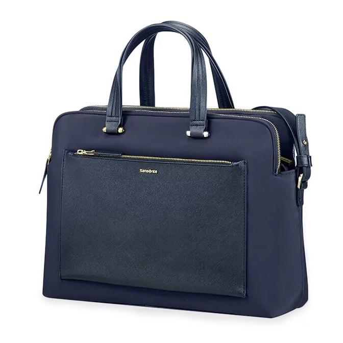 """Samsonite Dámská taška na notebook Zalia 85D-004 14.1"""" - tmavě modrá"""