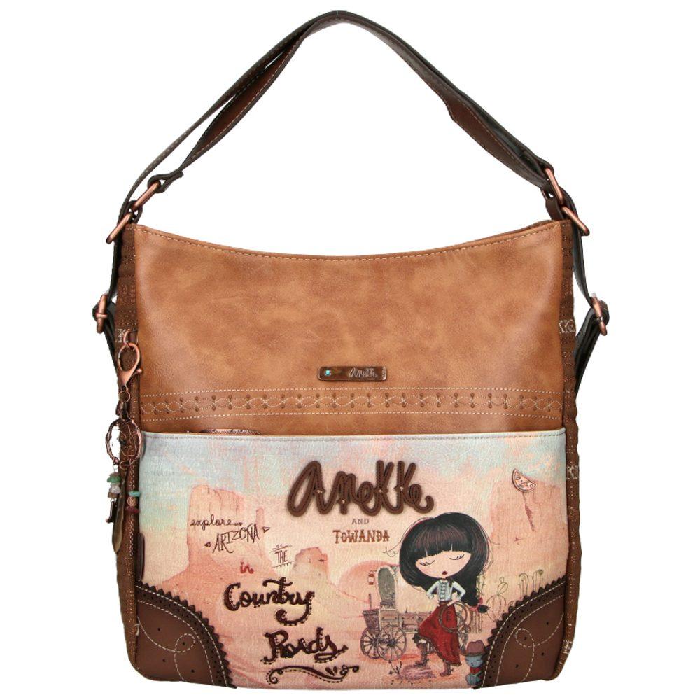 Anekke Dámská kabelka přes rameno a batoh 2v1 Arizona 30705-72