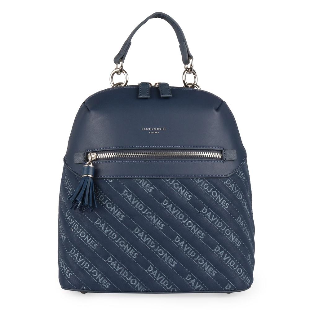 David Jones Paris Dámský batoh 6009-1 - tmavě modrá