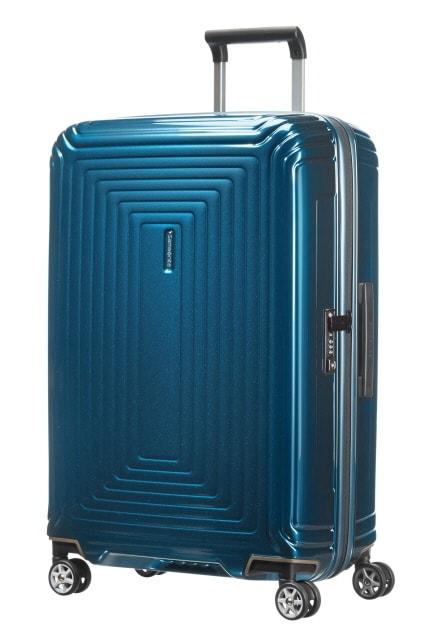 Samsonite Cestovní kufr Neopulse Spinner 74 l - modrá