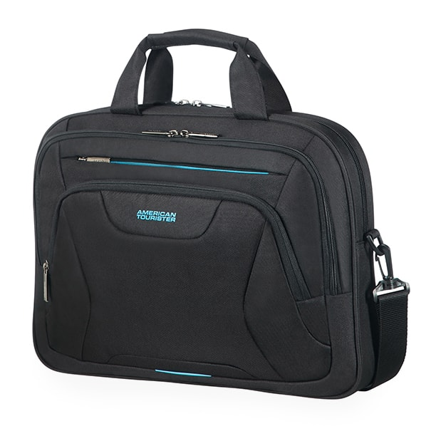 "American Tourister Taška na notebook At Work Laptop Bag 33G 15 l 15.6"" - černá"
