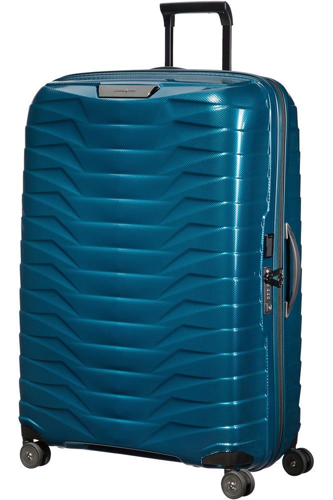 Samsonite Skořepinový cestovní kufr Proxis XL 125 l - modrá