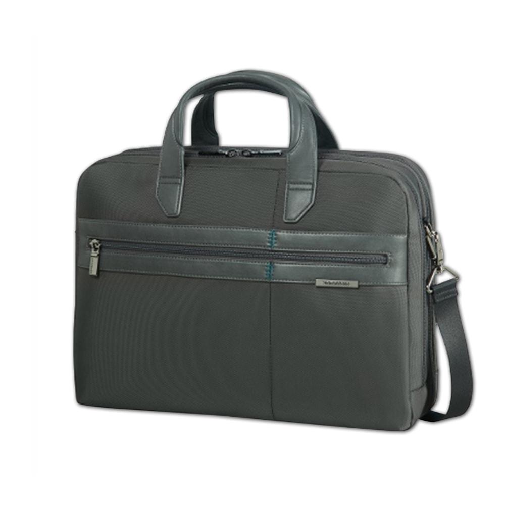 """Samsonite Pánská taška na notebook 15,6"""" Formalite 62N-005 - šedá"""