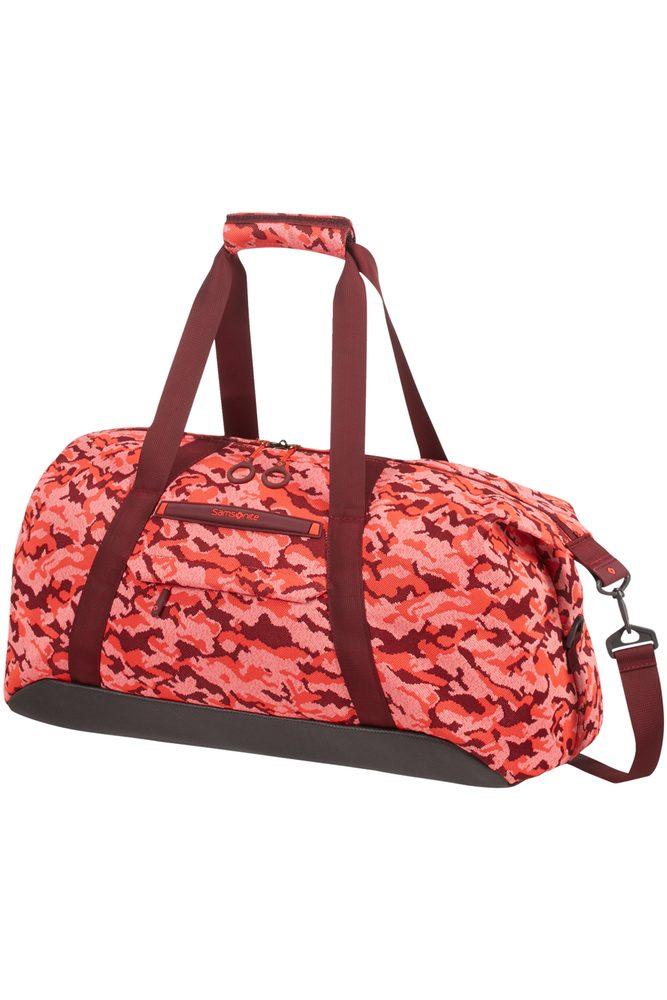 Samsonite Cestovní taška Neoknit 44 l - světle červená