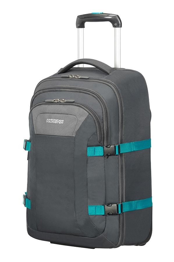 """American Tourister Cestovní taška Road Quest 35 l 15.6"""" - šedá/světle modrá"""