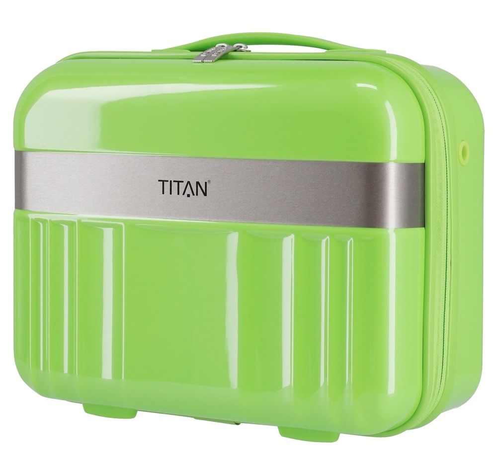 Titan Kosmetický kufřík Spotlight Flash Beauty case Flashy Kiwi 21 l