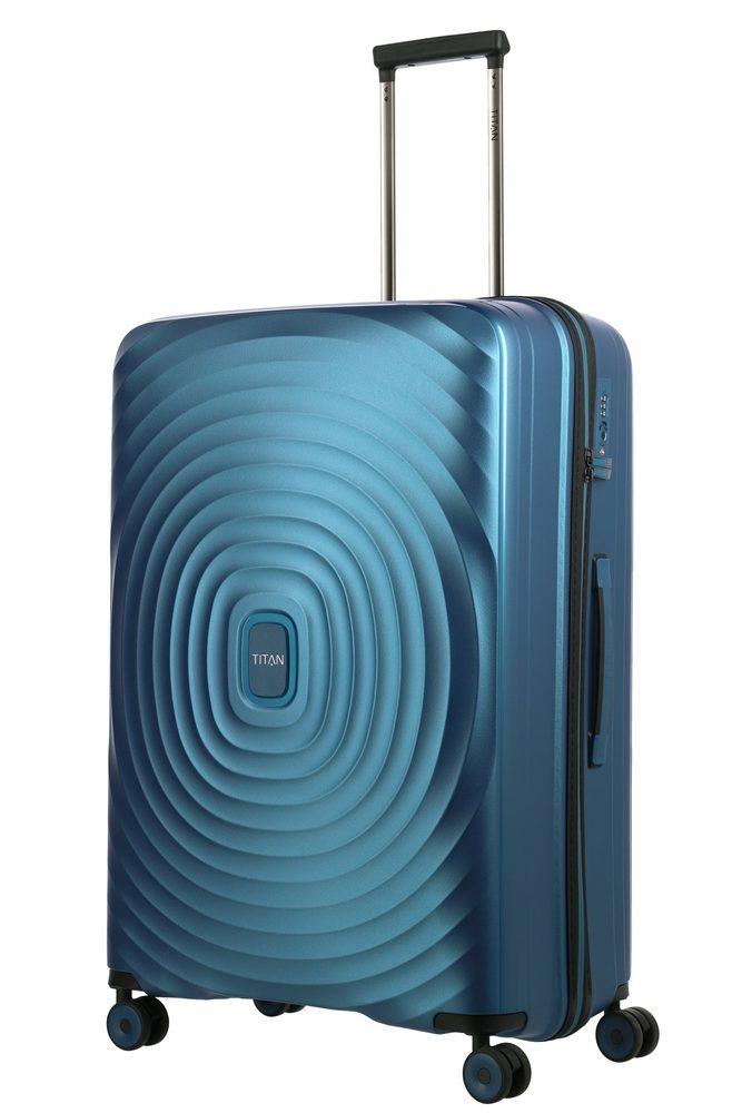 Titan Skořepinový cestovní kufr Looping L Petrol 105 l