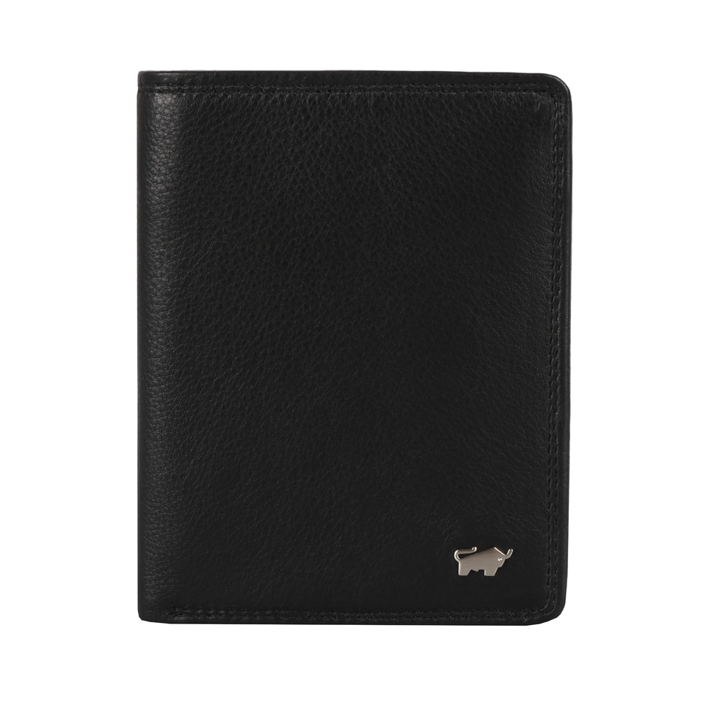 Braun Büffel Pánská kožená peněženka Golf 2.0 90443-051 - černá