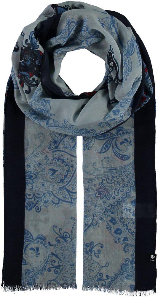 Fraas Dámský obdélníkový šátek 602032 - modrá