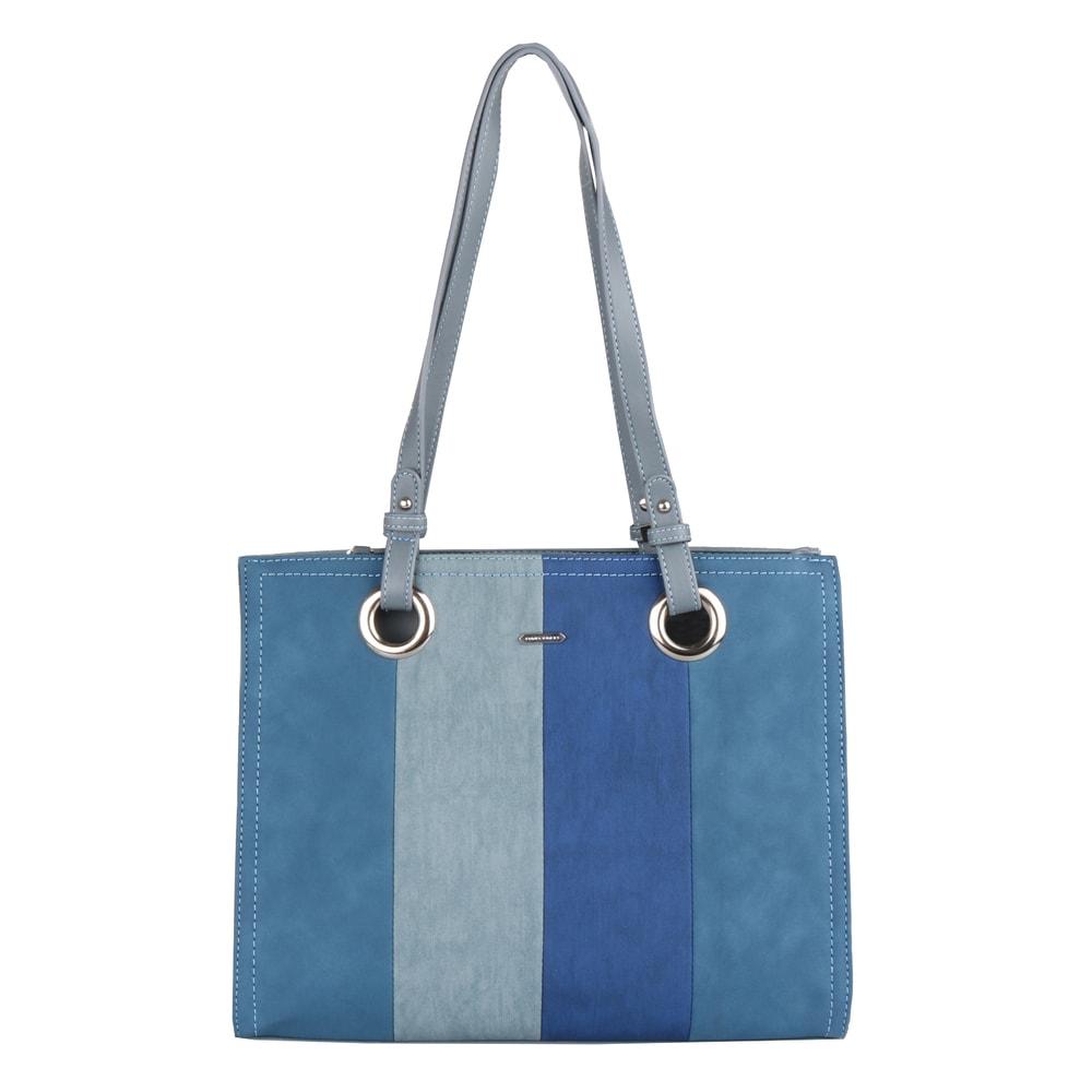 David Jones Paris Dámská kabelka přes rameno CM5185 - světle modrá