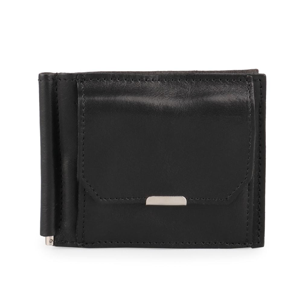 Hajn Pánská kožená dolarovka 5110213 - černá