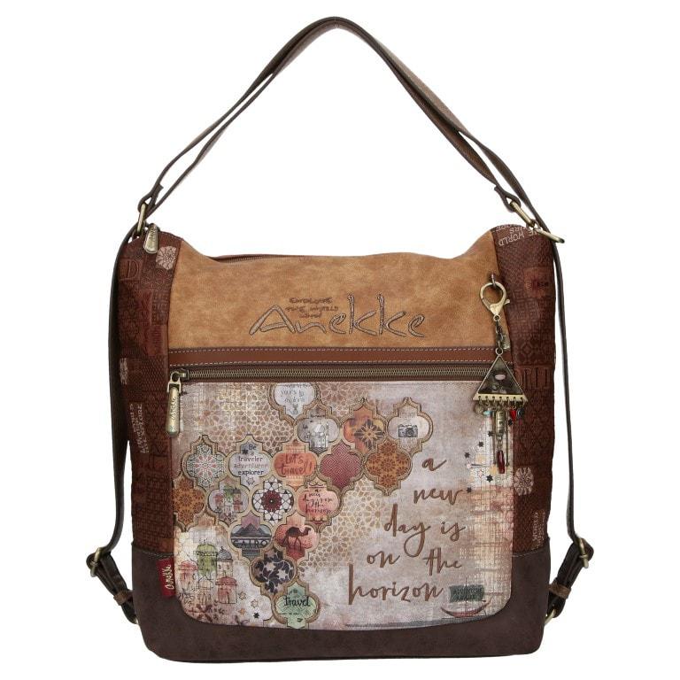 Anekke Dámská kabelka přes rameno a batoh 2v1 Arabescos Egypt 29895-03