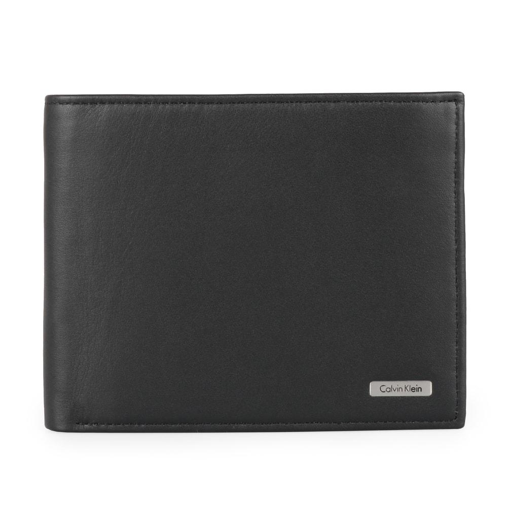 Calvin Klein Pánská kožená peněženka Rail K50K500915 - černá