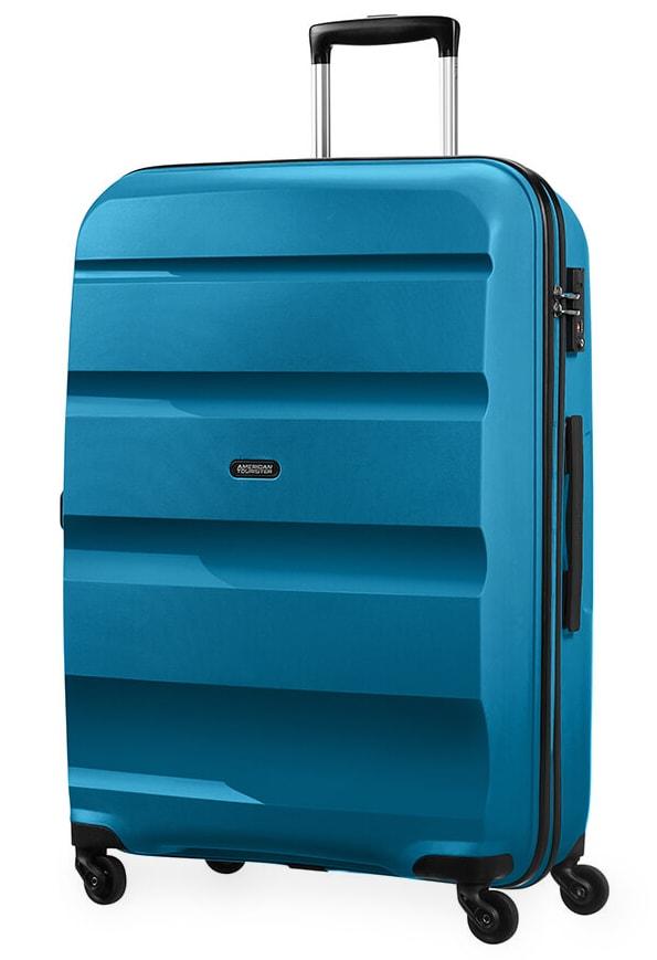 American Tourister Cestovní kufr Bon Air Spinner 85A 91 l - modrá