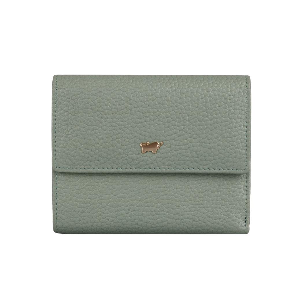 Braun Büffel Dámská kožená peněženka Asti 50444 - světle zelená