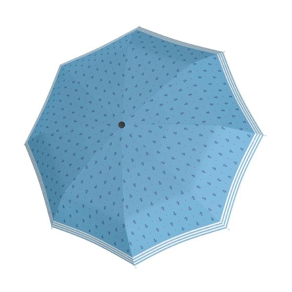 Doppler Skládací deštník Fiber Mini Sailor 726465SL - světle modrá