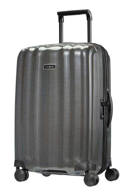 Samsonite Cestovní kufr Lite-Cube DLX Spinner 82V 67,5 l - šedá
