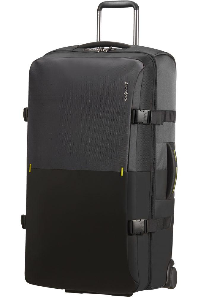 Samsonite Látková cestovní taška na kolečkách Rythum 115 l - tmavě šedá