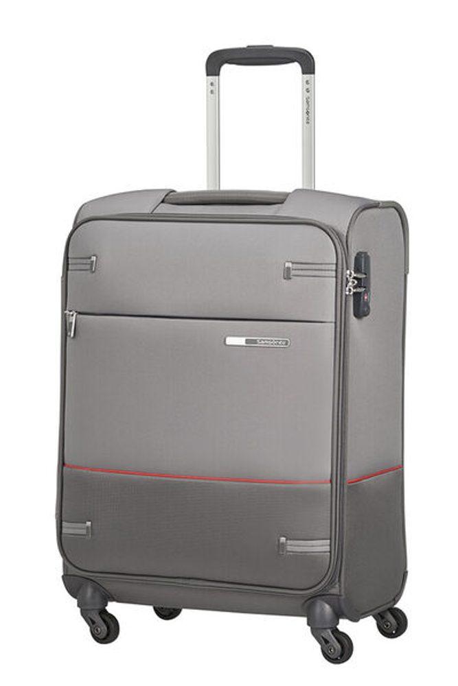 Levně Samsonite Kabinový cestovní kufr Base Boost 39 l - šedá