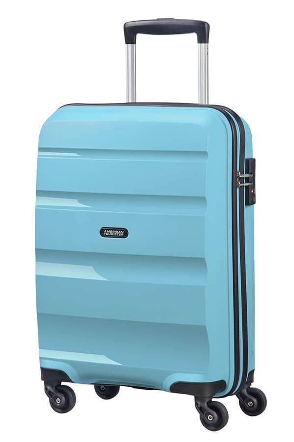 American Tourister Kabinový cestovní kufr Bon Air Spinner 85A 31,5 l - světle modrá