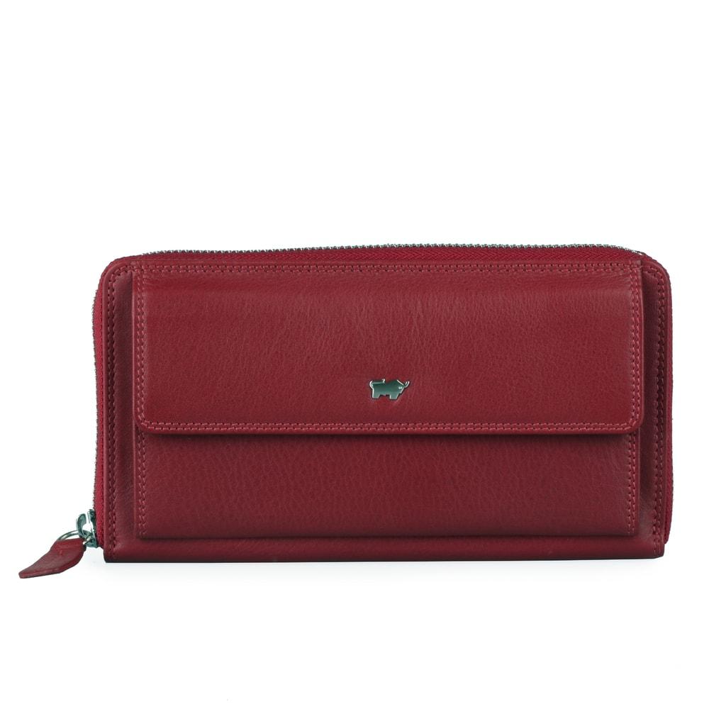 c1020050db Braun Büffel Dámská kožená peněženka 90480-051 - červená