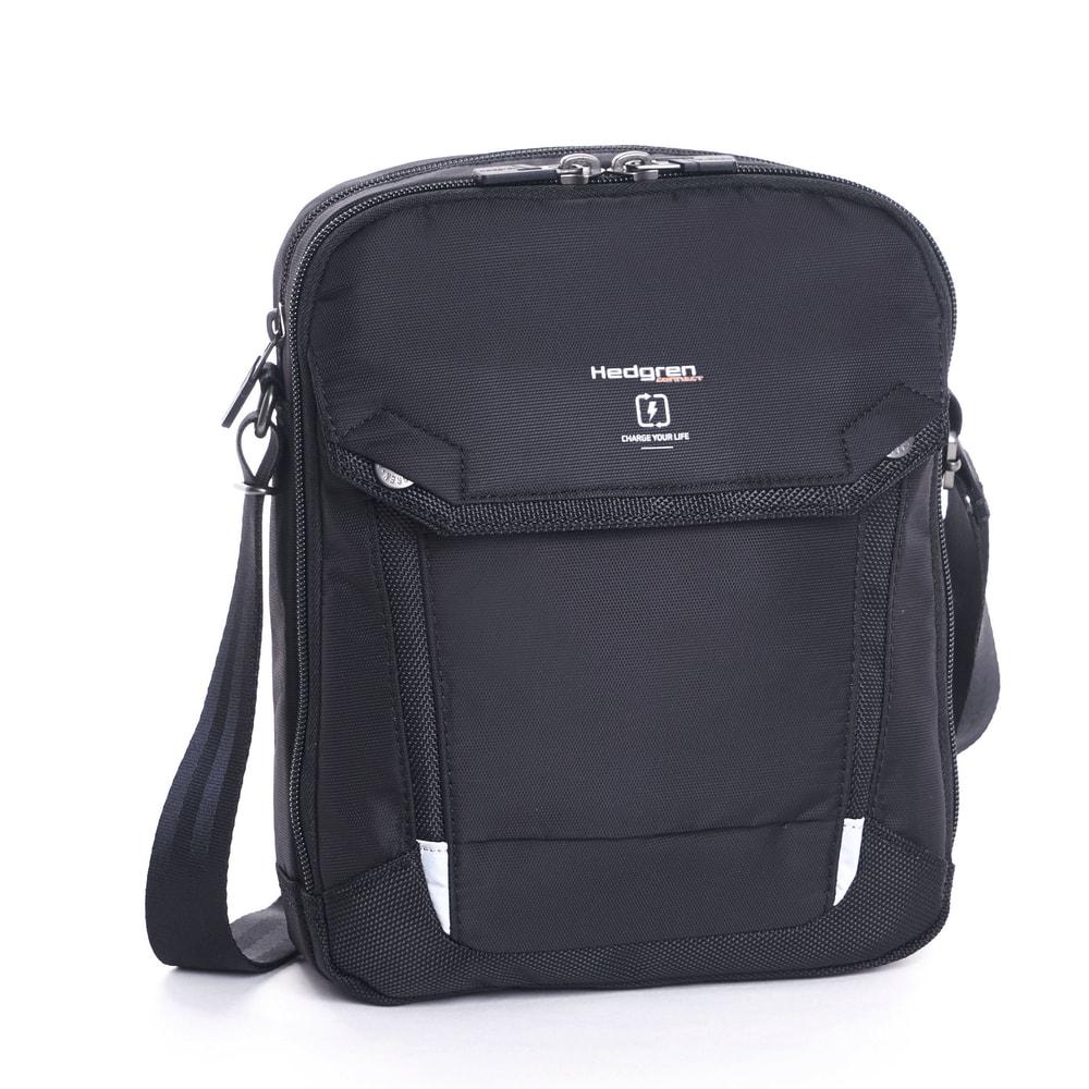 Hedgren Pánská taška přes rameno Contact RFID HLNK01 - černá
