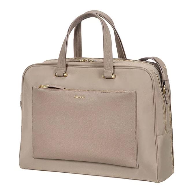 """Samsonite Dámská taška na notebook Zalia 85D-005 15.6"""" - béžová"""