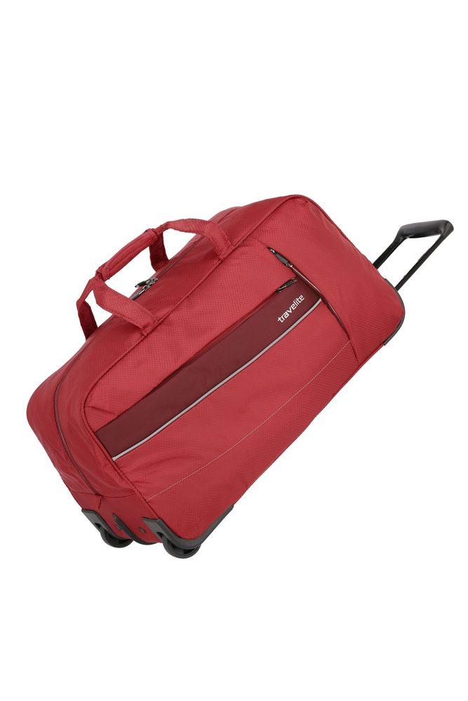 Travelite Cestovní taška na kolečkách Kite 2w Red 68 l