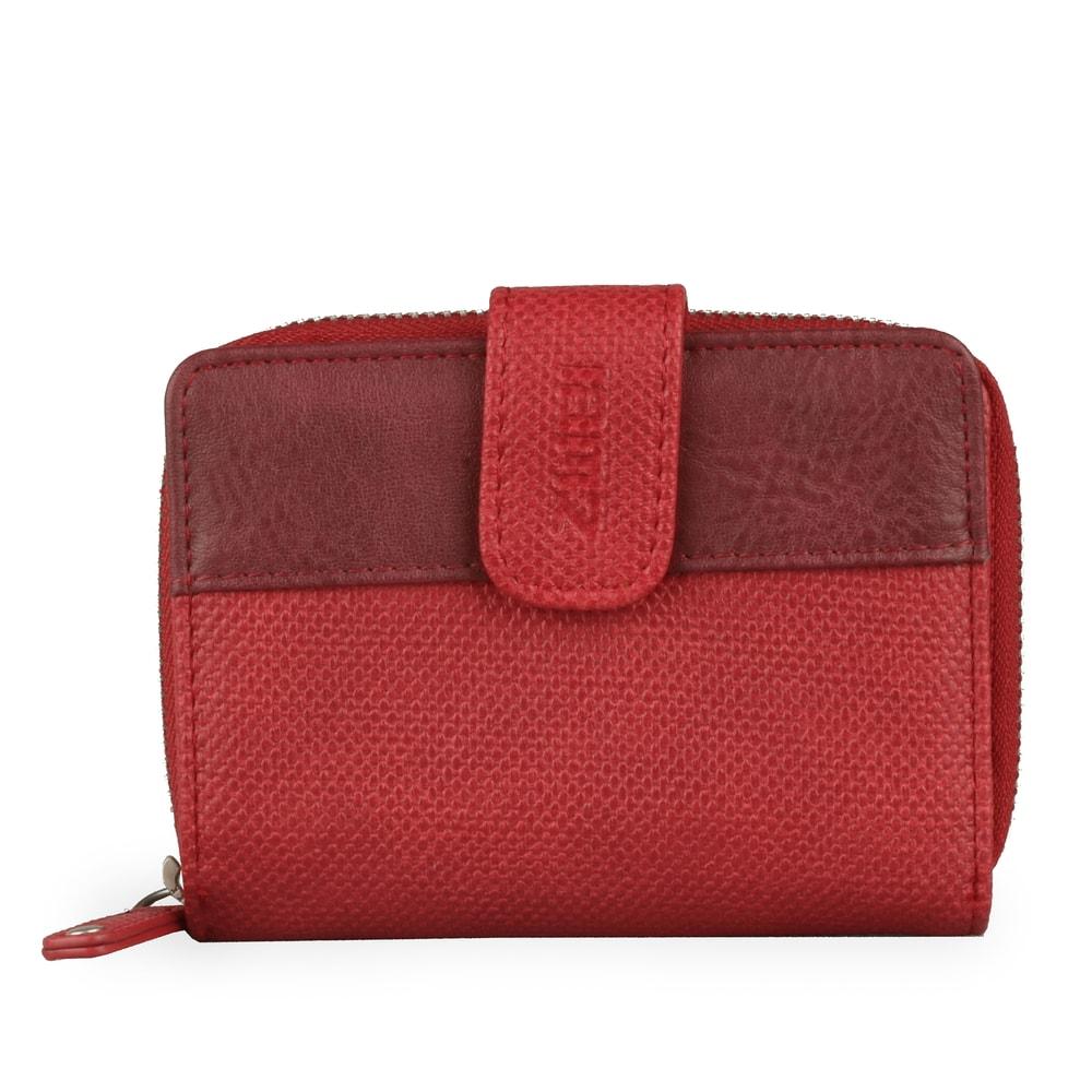 Zwei Malá dámská peněženka Jana J1 - červená